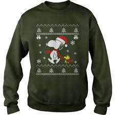 snoopy christmas shirts peanuts snoopy and woodstock youth christmas sweater or hoodie
