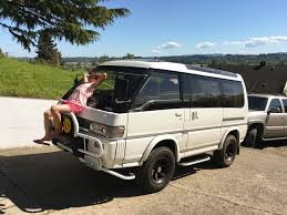 mitsubishi delica camper selling the dream van album on imgur