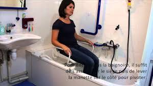 siege pivotant pour baignoire siège bain pivotant