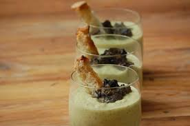 cuisiner des escargots creme de courgettes aux escargots aventures gourmandes