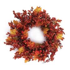 shop artificial thanksgiving wreaths at lowes
