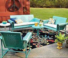 fantastic beautiful retro patio chairs metal lawn chairs vintage
