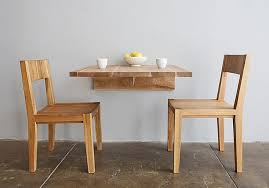 dining tables for small spaces ideas minimalist wooden wall mounted dining table with traditional design