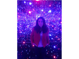 new museum light exhibit yayoi kusama s dazzling cosmic light exhibition is headed to the