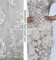 2017 haute couture beads lace fabrics for evening dress black