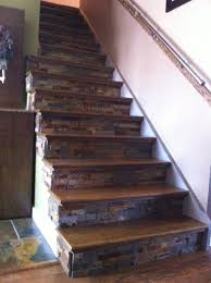 How To Put Rug On Stairs by Why Have Boring Stairs We Ripped Off The Carpet Added Oak Treads