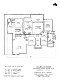 affordable 3 bedroom house plan modern 3822
