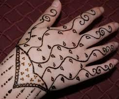 easy henna hand tattoo best henna design ideas