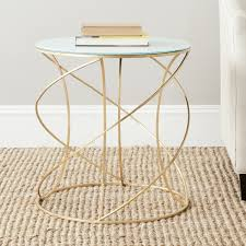 Drum Accent Table by Amazon Com Safavieh Home Collection Cagney Gold Accent Table