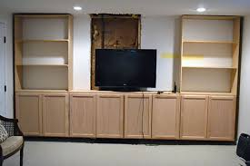 How To Install Built In Bookshelves by Diy Built In Bookcase