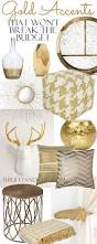 18 gold home decor pieces that won u0027t break the budget budgeting