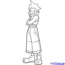 soul eater coloring pages gallery coloring ideas 3655
