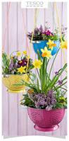 garden decoration ideas homemade garden planter idea put old kitchen colanders to good use and