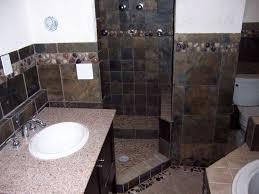Ceramic Tile Bathroom Floor Ideas by Slate Tile Bathroom Sacramento Company Shows How To Clean Slate