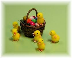 Joanns Easter Decorations by 216 Best Miniature Easter Images On Pinterest Dollhouses