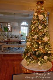 home for the holidays christmas house tour stonegable and speaking of trees our foyer tree