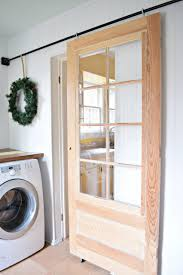 Half Barn Door by Laundry Room Glass Laundry Room Door Images Glass Laundry Room