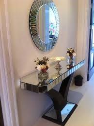 Hallway Console Table And Mirror Quartz Black Mirrored Console Table Mirror Set Mirror