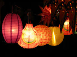 diwali decoration decorating garden with lights decoration and