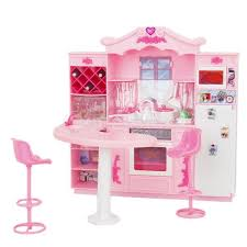 pretend kitchen furniture doll furniture kitchen with refrigerator play set
