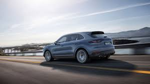 porsche suv 2017 preview the new porsche cayenne pfaff automotive partners