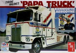 build your own kenworth truck 1 25 kenworth aerodyne tyrone malone