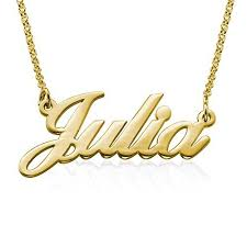 14 karat gold nameplate necklaces gold name plate necklace