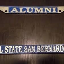 san diego state alumni license plate frame best csusb alumni license plate frame for sale in menifee