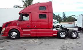 red volvo truck 2008 volvo vnl 780 stock 1176