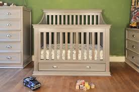 convertible crib sale furniture rustic nursery furniture gray convertible crib