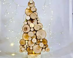 wooden tree etsy