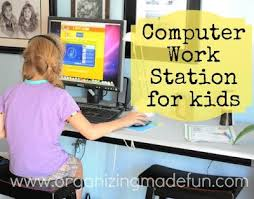 Kid Station Computer Desk 17 Best Ideas About Computer Station On Pinterest Floating