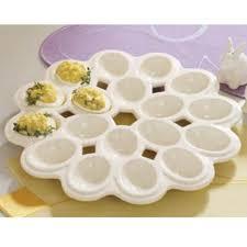devilled egg plate porcelain deviled egg plate ladles linens kitchen shoppe