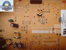 c4500 inverter ih pwb board assy b2235170