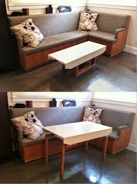 incredible coffee table converts to dining room with convertible