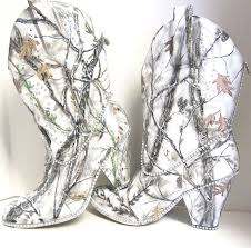 snow white camouflage women u0027s western bridal boots hand