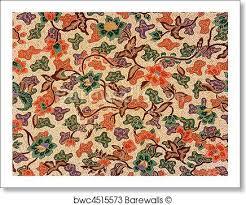 indonesian pattern art print of indonesian batik sarong barewalls posters prints