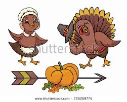 thanksgiving day vector illustration turkey stock vector
