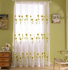 Sunflower Kitchen Curtain by Sunflowers Kitchen Curtains Reviews Online Shopping Sunflowers