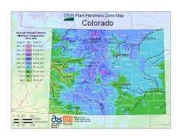 Climate Zones For Gardening - city gardening denver zone map