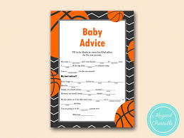 baby advice for new parents baby mad lib basketball baby