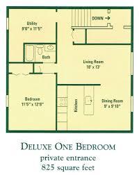 1 bedroom apartment floor plans home planning ideas 2017
