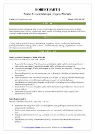 Summary Statement For Resume Manager Resume Samples Examples And Tips