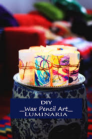 wax pencil luminaria best easy diy thanksgiving kid