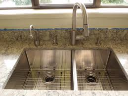kitchen faucet placement stainless steel kitchen sink combination kraususa com