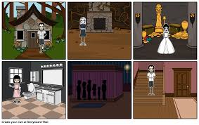 weird house storyboard by debs1012