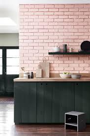 Rose Cabinets Peinture Little Greene La Couleur Rose à L U0027honneur Bricks