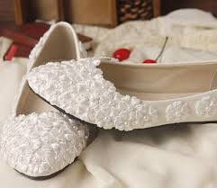 wedding shoes no heel 2018 fashion ivory lace wedding shoes for bridals high low no heel
