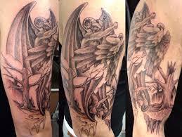 angel vs demon tattoo image
