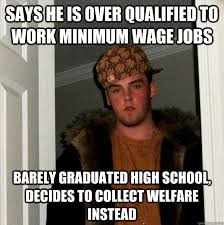 How To Get Welfare Meme - the 7 most dangerous myths about the fight for 15 minimum wage